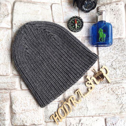 Шапки ручной работы. Ярмарка Мастеров - ручная работа. Купить Вязаная шапка на демисезон. Handmade. Детские шапки, мята