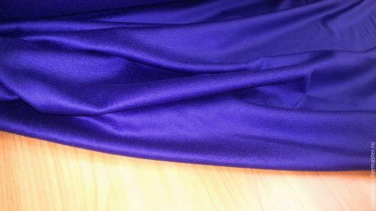 Шитье ручной работы. Ярмарка Мастеров - ручная работа. Купить Альпака Королевский синий Max Mara. Handmade. Купить ткань
