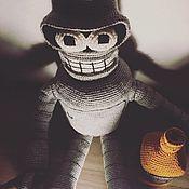 Мягкие игрушки ручной работы. Ярмарка Мастеров - ручная работа Игрушка Бендер из Футурамы. Handmade.