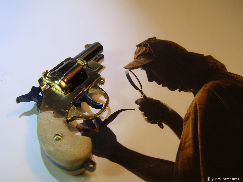 Револьвер Шерлока Холмса. Веблей Мк.2
