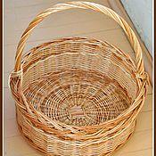 Для дома и интерьера ручной работы. Ярмарка Мастеров - ручная работа Пасхальная корзина для кулича и яиц. Handmade.