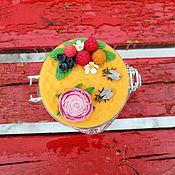 Банки ручной работы. Ярмарка Мастеров - ручная работа Баночка для мёда. Вкусная баночка. Баночка с декором.. Handmade.