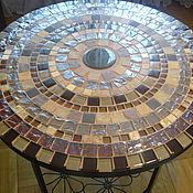 Для дома и интерьера handmade. Livemaster - original item Table pridivanny mosaic