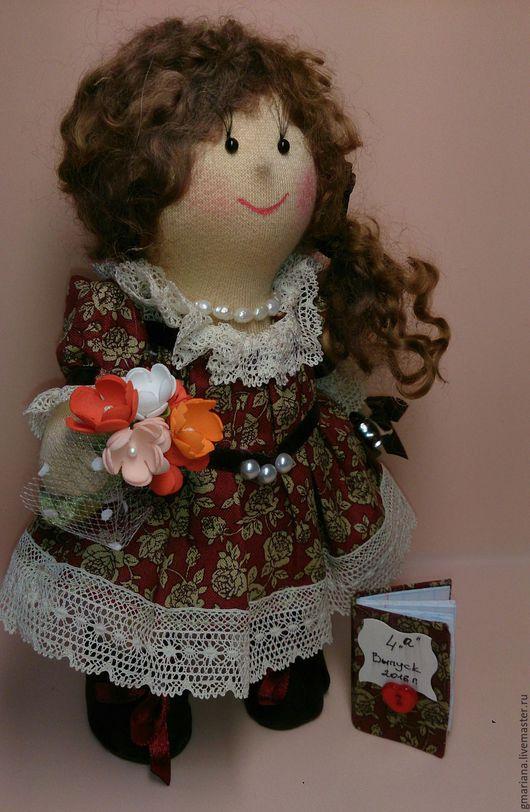 Коллекционные куклы ручной работы. Ярмарка Мастеров - ручная работа. Купить Кукла текстильная. Бусинка.. Handmade. Кукла ручной работы