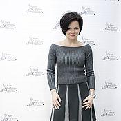 Одежда ручной работы. Ярмарка Мастеров - ручная работа Комплект : джемпер и юбка. Handmade.