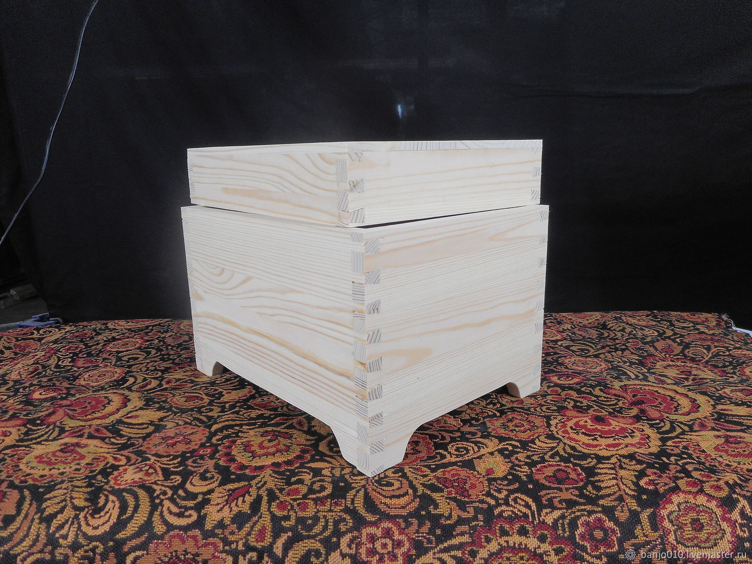 The box lid blank of wood, Blanks for decoupage and painting, Lyubertsy,  Фото №1