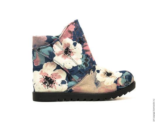 Обувь ручной работы. Ярмарка Мастеров - ручная работа. Купить Летние ботинки 8-152 (СЧ). Handmade. летние сапоги