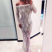 Шикарное платье из кружева YuliyaLEV