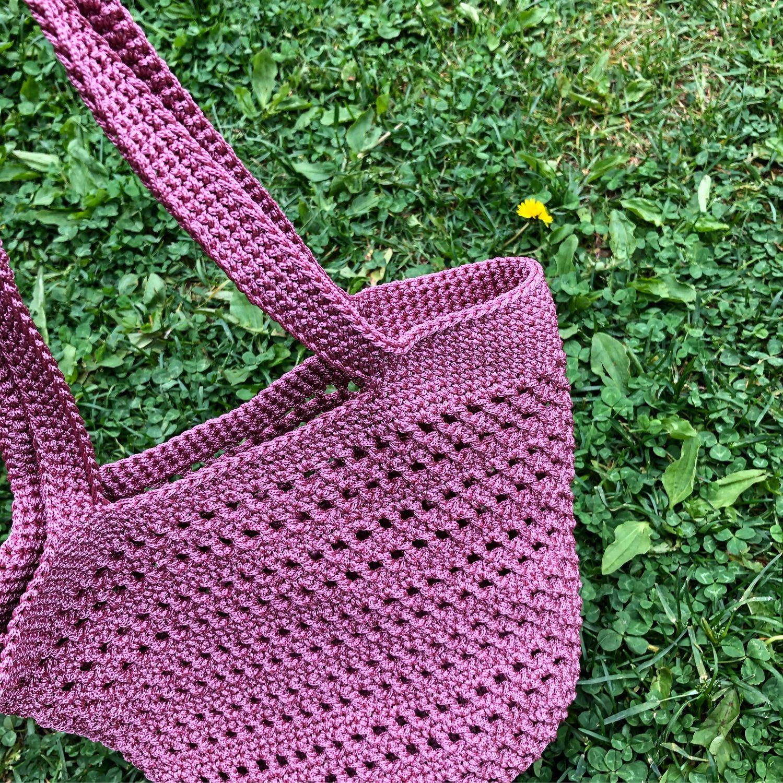 Bolsa de verano de punto, String bag, St. Petersburg,  Фото №1