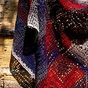 """Аксессуары ручной работы. Ярмарка Мастеров - ручная работа Шаль """" Танец огня"""" связана крючком. 100% экошерсть.. Handmade."""
