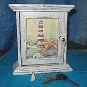 Для дома и интерьера ручной работы. Ярмарка Мастеров - ручная работа ключница,,маяк,,-30%. Handmade.