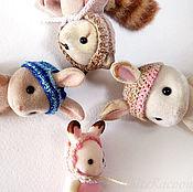 Куклы и игрушки ручной работы. Ярмарка Мастеров - ручная работа Шапки для Sylvanian families. Handmade.