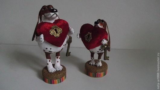 Коллекционные куклы ручной работы. Ярмарка Мастеров - ручная работа. Купить Верный друг. Handmade. Символ дружбы, текстиль