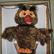 Куклы и игрушки handmade. Livemaster - original item OWL. Tablet puppets. Handmade.