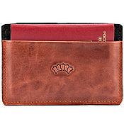 Сумки и аксессуары handmade. Livemaster - original item Leather documentsize