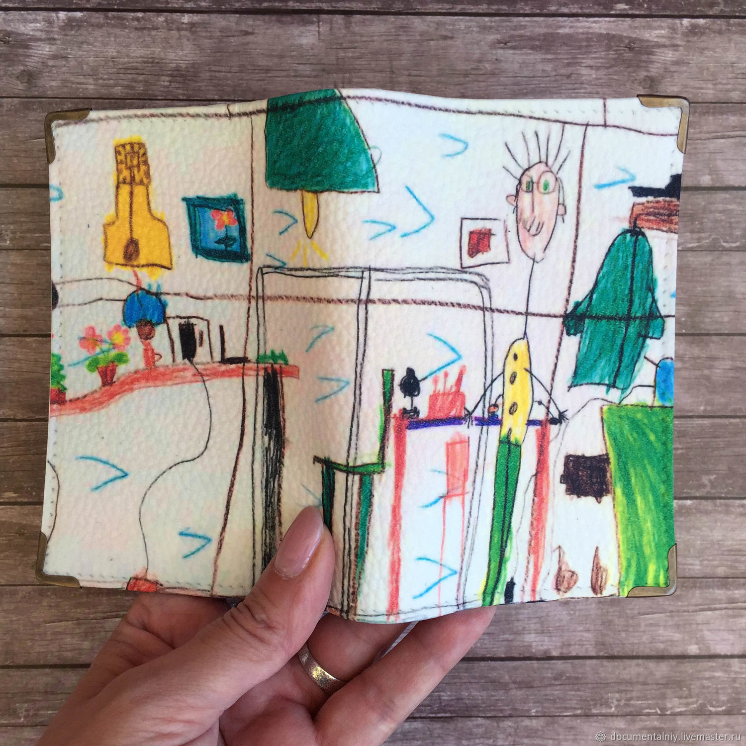 Cover for explanation of children's drawing, Cover, Obninsk,  Фото №1