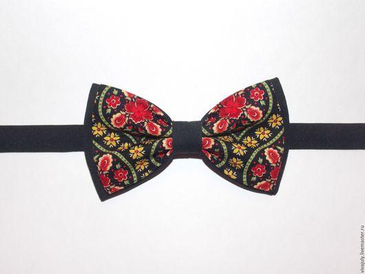 Галстуки, бабочки ручной работы. Ярмарка Мастеров - ручная работа. Купить Галстук - бабочка. Handmade. Орнамент, галстук-бабочка, Праздник