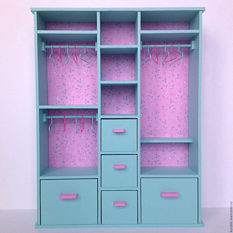 Как сделать шкафчик для барби фото 57