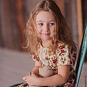 Работы для детей, handmade. Livemaster - original item dress for girl of provence