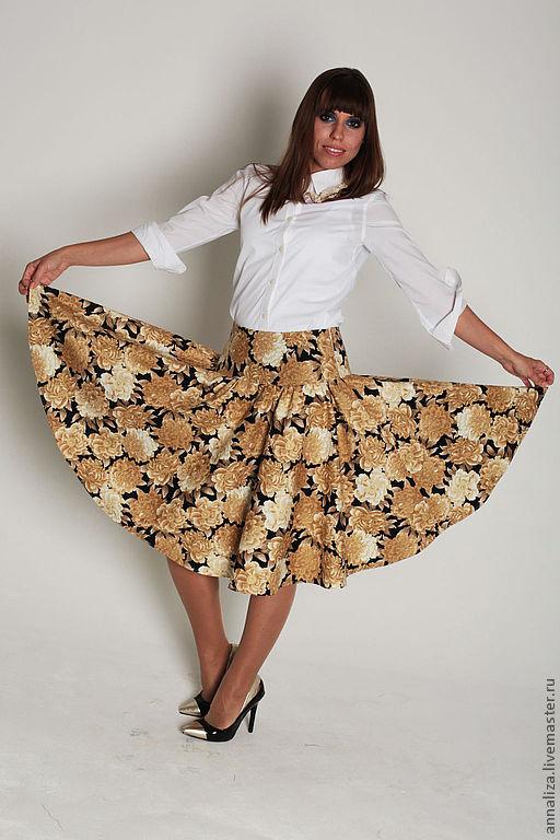 Skirt 'Bat', Skirts, Moscow,  Фото №1