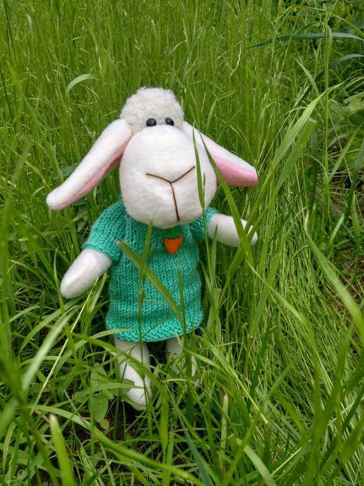 Игрушки животные, ручной работы. Ярмарка Мастеров - ручная работа. Купить Овечка Лапочка. Handmade. Овечка игрушка, овечка в подарок