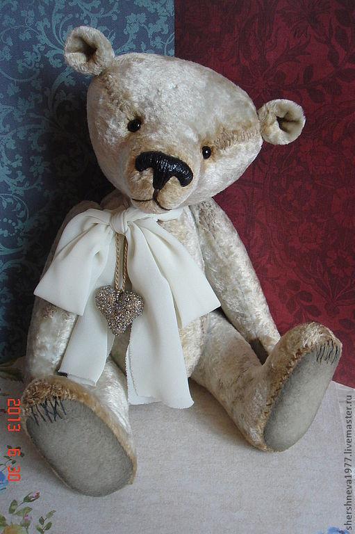 """Мишки Тедди ручной работы. Ярмарка Мастеров - ручная работа. Купить Мишка """"Полярный"""". Handmade. Молочный, мишка в подарок"""
