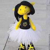 Куклы и игрушки ручной работы. Ярмарка Мастеров - ручная работа Девелоу (летний желтый эльф). Handmade.