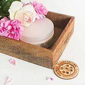 Косметика ручной работы handmade. Livemaster - original item Balm-conditioner for hair Echinacea and wash argan pink. Handmade.