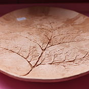 Посуда ручной работы. Ярмарка Мастеров - ручная работа блюдо мраморное. Handmade.