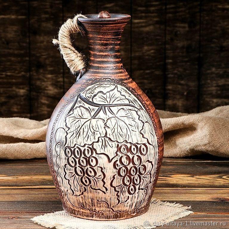 Pottery bottle 'Crimean Gift' 4L, Bottles, Feodosia,  Фото №1