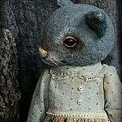 Куклы и игрушки ручной работы. Ярмарка Мастеров - ручная работа Кошка Лючиа Бланш. Handmade.
