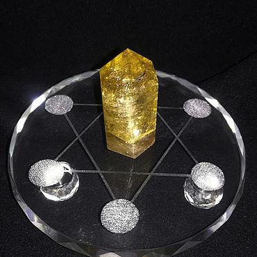 """Феншуй ручной работы. Ярмарка Мастеров - ручная работа Алтарь для работы с кристаллами  """"7звезд"""". Handmade."""