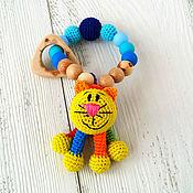 Одежда ручной работы. Ярмарка Мастеров - ручная работа Грызунок с игрушкой Котик. Handmade.