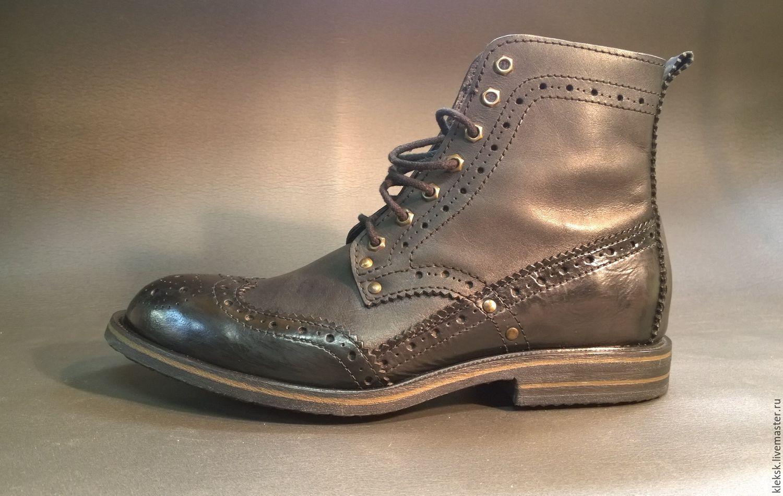 New Rock - брутальная Испанская обувь / new rock ботинки