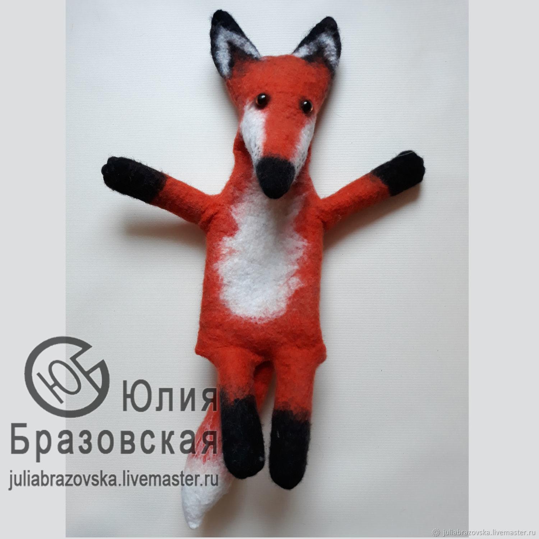Бибабо Лиса. Перчаточная кукла Лисенок, Кукольный театр, Санкт-Петербург,  Фото №1