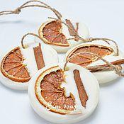 Сувениры и подарки ручной работы. Ярмарка Мастеров - ручная работа Флорентийское саше Апельсин и корица. Handmade.