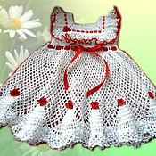 Работы для детей, ручной работы. Ярмарка Мастеров - ручная работа Платье МИСС КАРОЛИНА. Handmade.