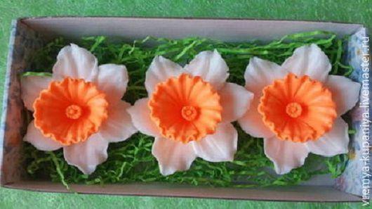 """Другие виды рукоделия ручной работы. Ярмарка Мастеров - ручная работа. Купить 3D форма силиконовая """"Нарцисс"""". Handmade."""
