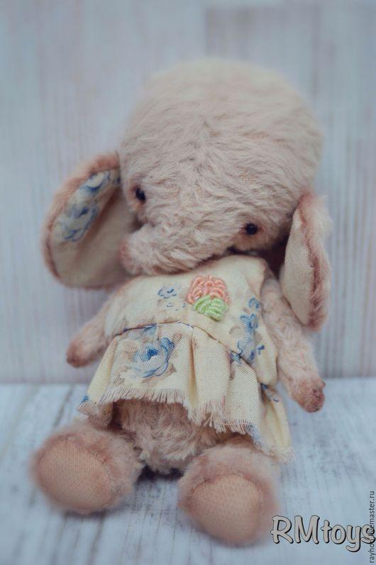 Мишки Тедди ручной работы. Ярмарка Мастеров - ручная работа. Купить Слоняша. Handmade. Розовый, тедди, игрушка ручной работы