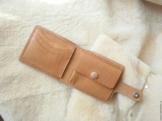 Кошельки и визитницы ручной работы. Ярмарка Мастеров - ручная работа. Купить портмоне кошелёк из кожи кошелёк кожаный ручной работы. Handmade.