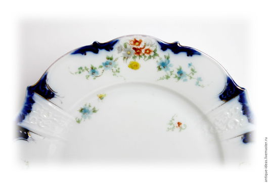 Винтажная посуда. Ярмарка Мастеров - ручная работа. Купить 1920 - 1930 Десертный набор, Силезия. Handmade. Белый, винтаж, фарфор