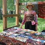 Павлопосадский платок - Ярмарка Мастеров - ручная работа, handmade
