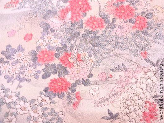 Шитье ручной работы. Ярмарка Мастеров - ручная работа. Купить Японский шёлк креп. Handmade. Натуральный шелк, розовый