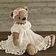 """Куклы и игрушки ручной работы. Набор для шитья """"Мишка Лиза + платье """" , 56 см.. авторские мишки   Гузель  Костына. Интернет-магазин Ярмарка Мастеров."""