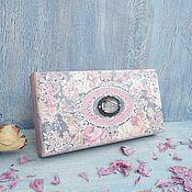 Сувениры и подарки handmade. Livemaster - original item Vintage openwork copernica Black roses. Handmade.