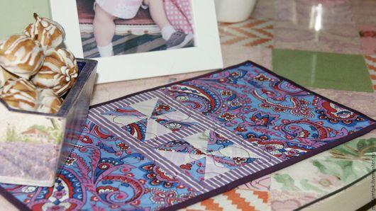 Текстиль, ковры ручной работы. Ярмарка Мастеров - ручная работа. Купить Мини ланчмат. Handmade. Комбинированный, ланчмат, флизелин