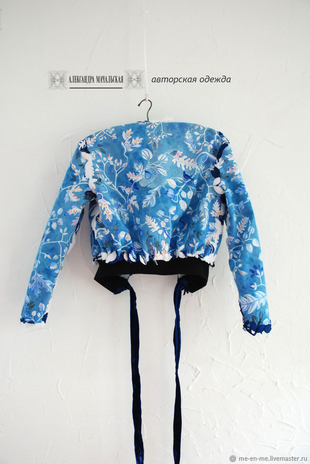 Bomber the children of the forest made of cotton and velvet hand-painted, Bombers, Penza,  Фото №1