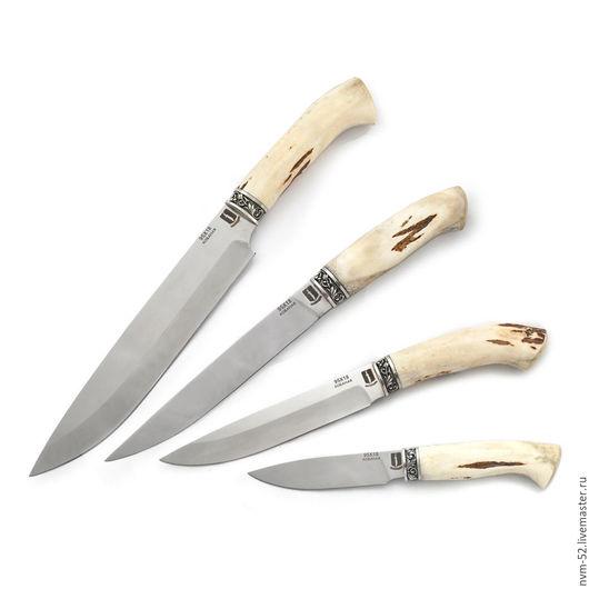 Кухня ручной работы. Ярмарка Мастеров - ручная работа. Купить Набор кухонных ножей. Handmade. Ножи, сталь
