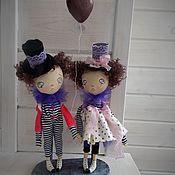 Куклы и игрушки ручной работы. Ярмарка Мастеров - ручная работа Парочка! Скидка 10%. Handmade.