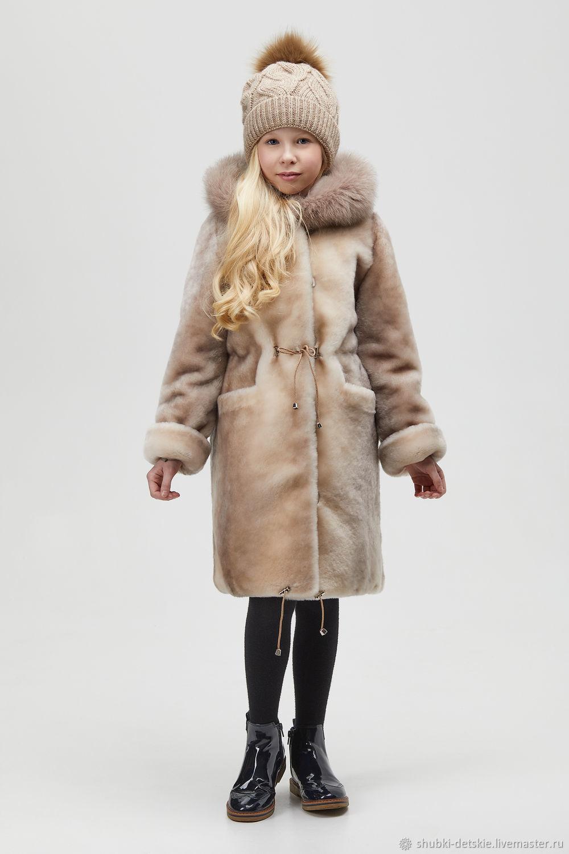 Children's coat of Mouton, Fur Coats, Pyatigorsk,  Фото №1